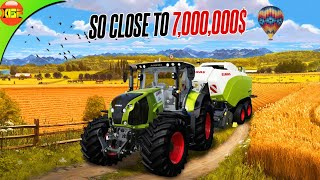 Close To 7$ Millin Money! 15$ Million Challenge Using Claas Vehicles Only