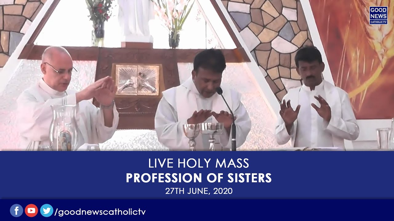 Profession of Sisters ..At Christ the King Parish (27.6.2020)