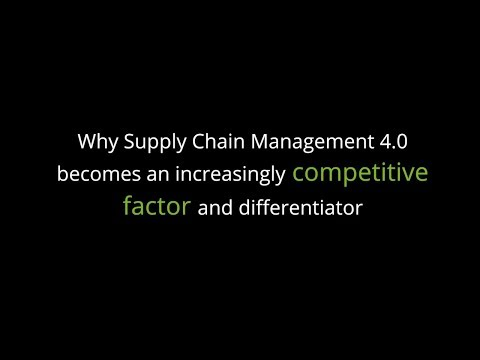 Competitive factor and differentiator — Supply chain management in the chemicals industry