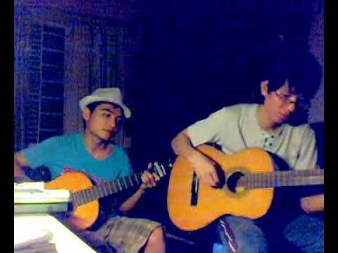 trieu doa hong - guitar by manhnhe and hunggalaxy DH Thuy Loi