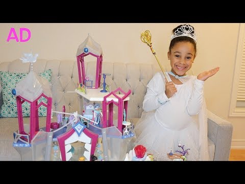Cali Turns Into A Winter Princess | Cali's Playhouse