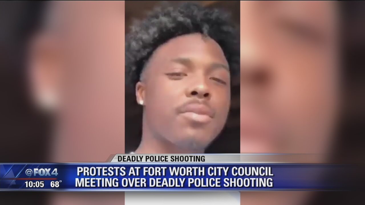 Tensions flare at Fort Worth city council meeting following 4 police shootings