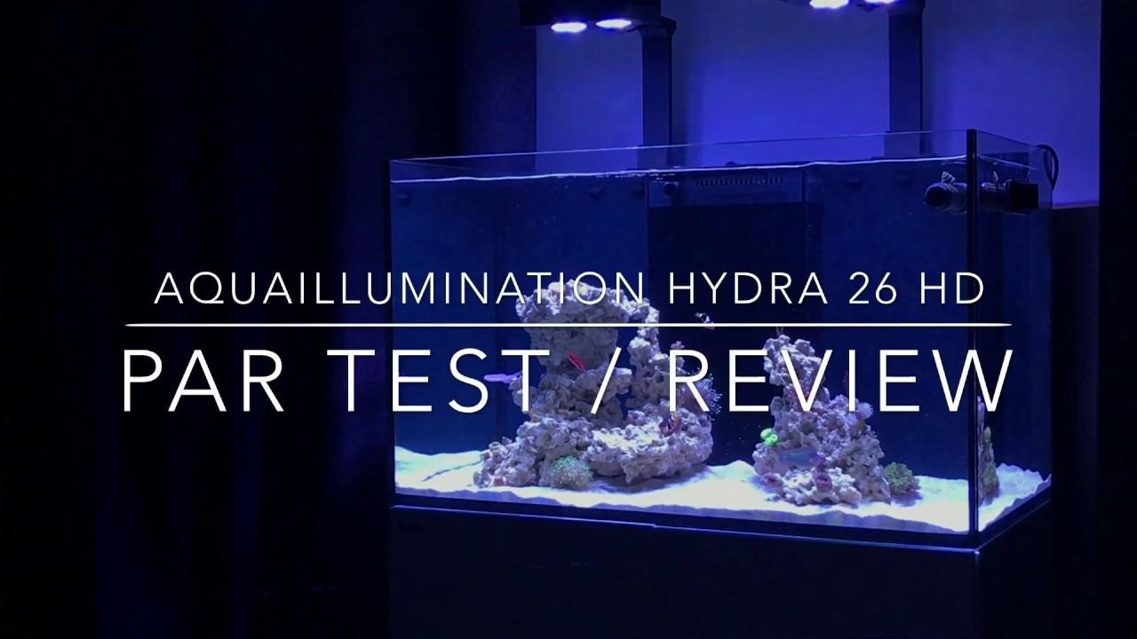 ai hydra 26hd par test review youtube