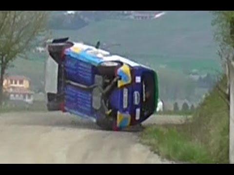 5° Rally Colli del Grignolino 2017 - BIG CRASH & MISTAKES