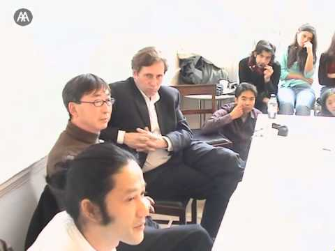 Toyo Ito - Morning Conversation with AA students and Brett Steele