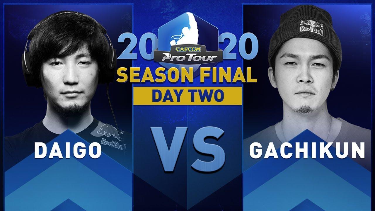 Daigo (Guile) vs. Gachikun (Rashid) - Capcom Pro Tour 2020 Season Final - Day 2