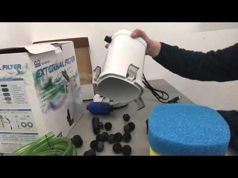 до 150л ,HW - 503 Full, 350 л/ч SunSun внешний фильтр, наружный,биологический,канистровый