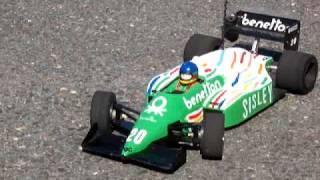 Benetton BMW B186 Gerhard berger 1986 F1 Tamiya R/C road wizard