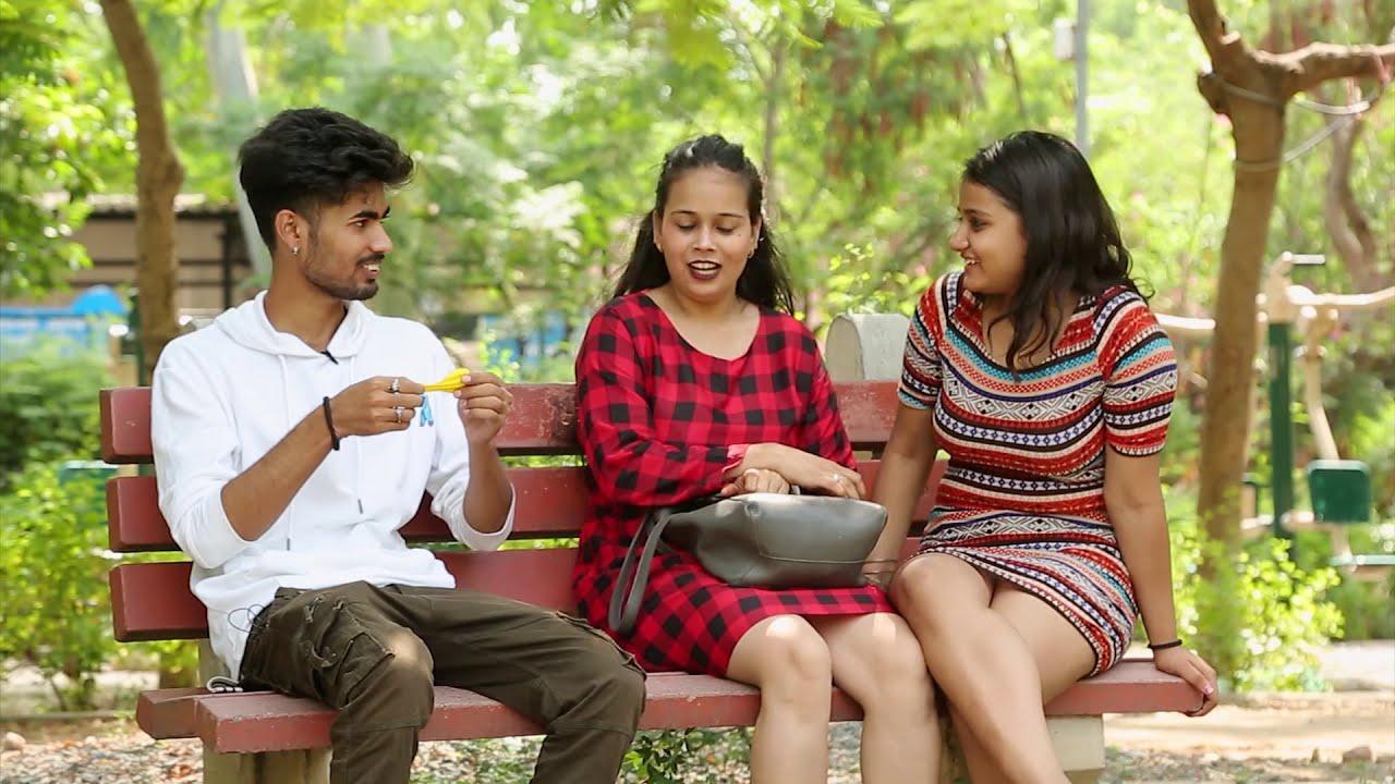 Balloon Blast Prank With Cute Girls With Twist |Bharti Prank |Raju Bharti|