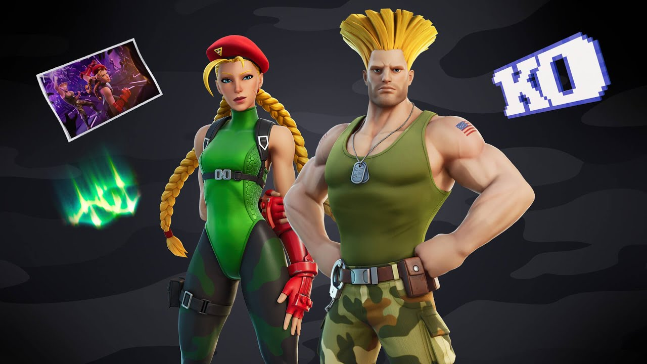 How to Unlock Cammy EARLY and for FREE (Fortnite Cammy Cup) - New Street Fighter Bundle