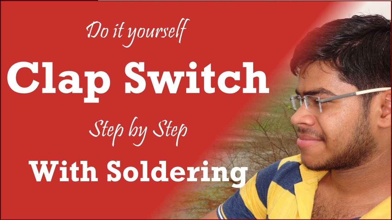 Clap Switch Science Project Hindi Urdu Youtube Circuit Diagram Of