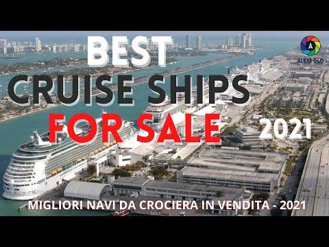 CRUISE SHIP FOR SALE 2021 THE BEST - MIGLIORI NAVI DA CROCIERA IN VENDITA 2021