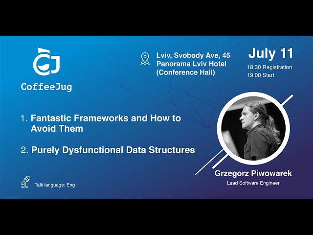 Purely Dysfunctional Data Structures by Grzegorz Piwowarek | CoffeeJug Meetup