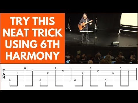 How To Play Chord Progressions Without Using Chords [6th Harmony]