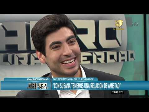 Facundo Moyano habló una vez más de Susana: Se armó un lío grande
