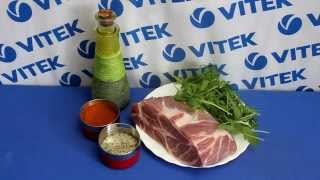 Рецепт приготовления свинины в собственном соку в мультиварке VITEK VT-4208 CL