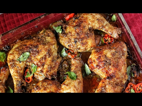 OVEN GRILLED CHICKEN