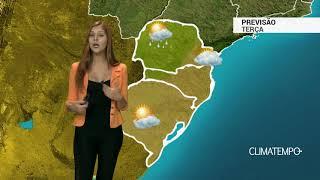 Previsão Sul - Mar agitado no litoral do RS e SC
