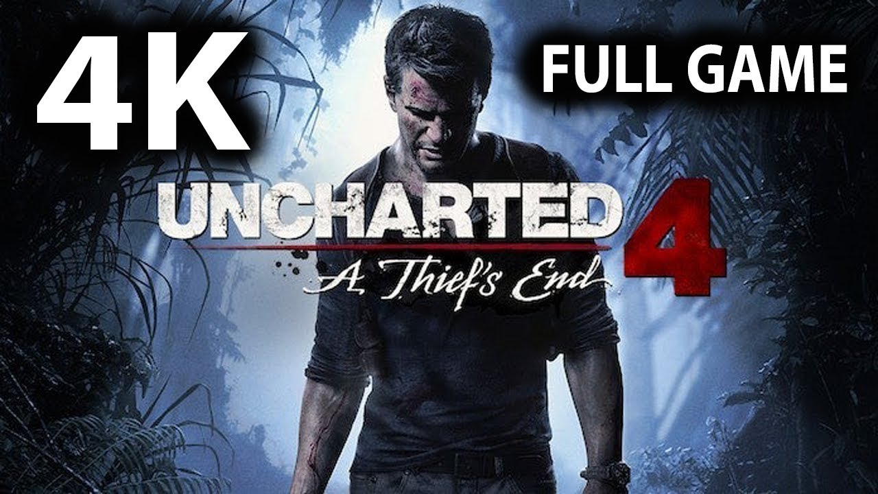 Uncharted 4 Remastered Full Game Walkthrough - No Commentary (PS4 PRO 4K 60FPS)