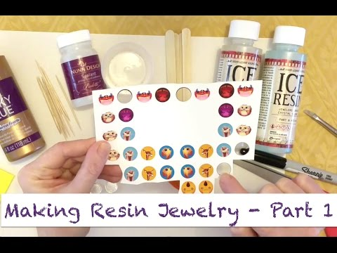 How to Make Resin Jewelry Using Artwork Part 1 - Image Prep