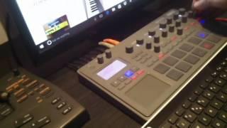 KORG Electribe deep house chords!!