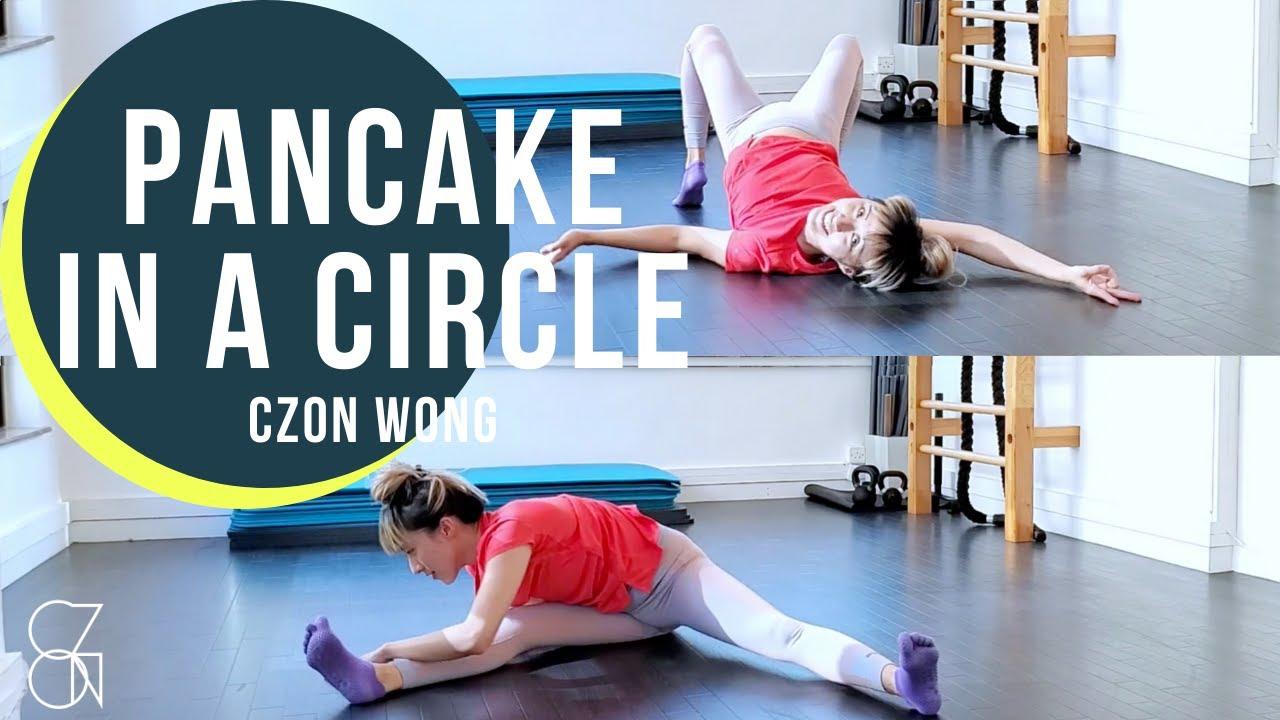 Pancake 劈腿靈活度練習