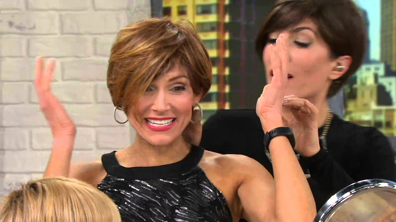 Hairdo Angled Short Cut Wig On Qvc Youtube
