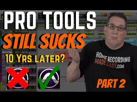 Pro Tools Review 2020 | Does it Still Suck 10 Yrs Later? Part 2
