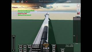 Roblox Rails Unlimited BR HST Class 43 drive (I suck at this game)