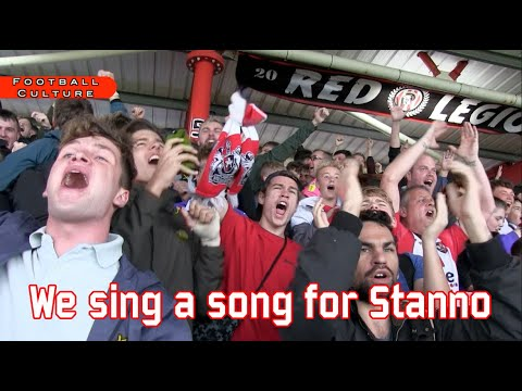 We sing a song for Stanno Exeter