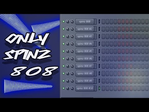 Making a Beat Out of Only the Spinz 808 - YouTube