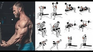 15 TOP TRICEPS EXERCICES/  TRICEPS WORKOUT FOR MASS screenshot 2