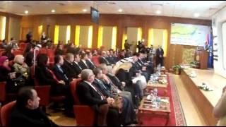 مميش ورئيس بنك الامارات دبى الوطنى يفتتحان مركز الاغاثة العاجلة