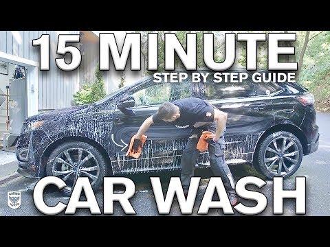 15 Minute Maintenance Car Wash: Water vs No Water