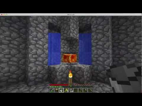 how to make an obsidian generator in minecraft 2017