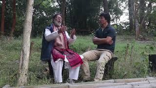 Padmashree Probir Guha with Utpal Pagag(a short interact..)