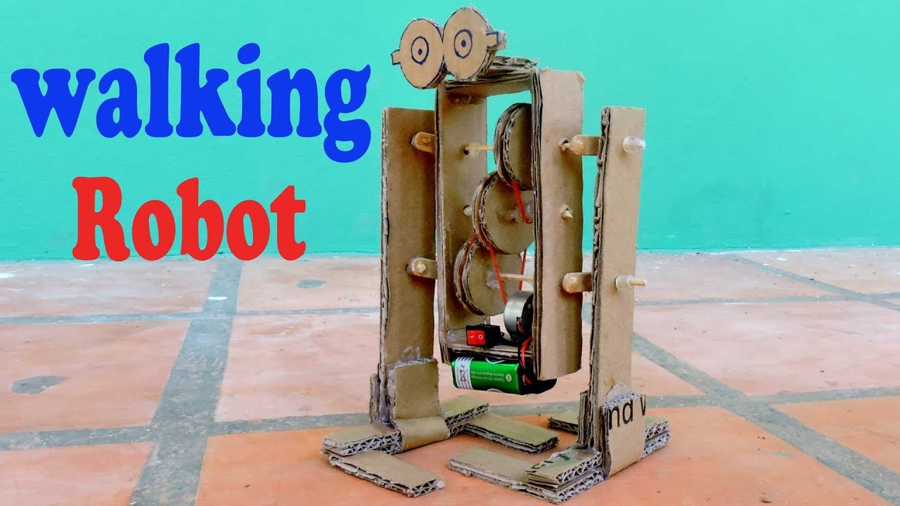 robot how to make a walking robot