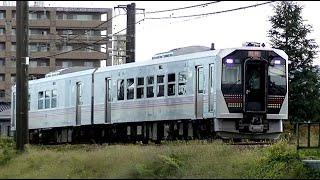 臨時快速「只見紅葉満喫号」GV-E400系 新潟→只見 9732D