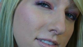 Plum Smokey Eyes-  Kristen Stewart Inspired Makeup Tutorial