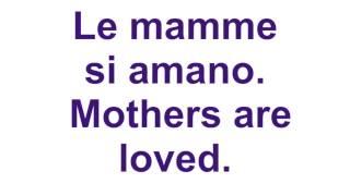 Toto Cutugno Le Mamme English