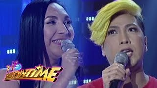 Video It's Showtime Miss Q & A: Dianne Illustre and Vice Ganda are co-candidates from a pageant before download MP3, 3GP, MP4, WEBM, AVI, FLV Januari 2018