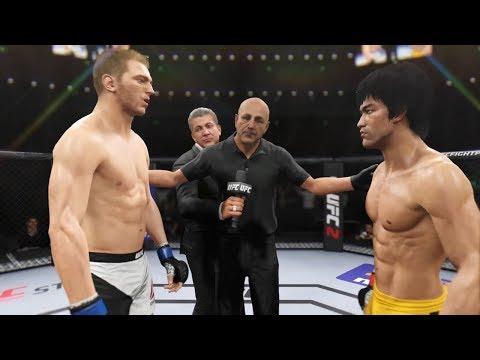Bruce Lee vs. Daniel Hooker EA Sports UFC 2  CPU vs. CPU