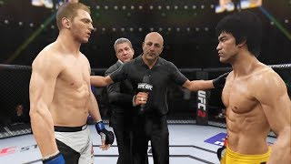 Bruce Lee vs. Daniel Hooker (EA Sports UFC 2) - CPU vs. CPU