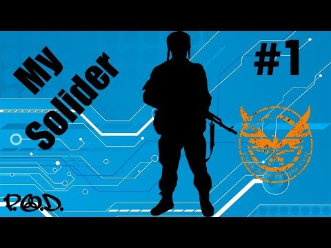 'THE GENETIC MILITARY STATION' - My Soldier #1 - w/Storylines - Diego Ruiz