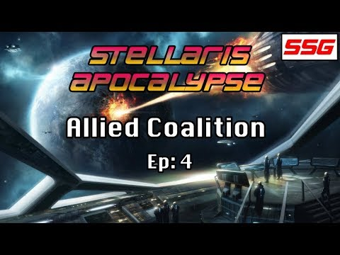 Let's Play Stellaris - Allied Coalition Ep: 4