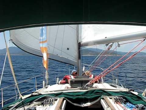 www.charterayacht.gr - Relax sailing at Halkidiki Sithonia - Kalamitsi.AVI