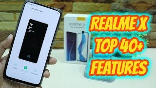 Realme X Top 40+ Hidden Features , Advance Features , Best Features ! Tips & Tricks !! HINDI