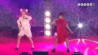 JAM EXPO 2015 ストロベリーステージ ゆるめるモ! 2015.08.29 @JAM Exp...