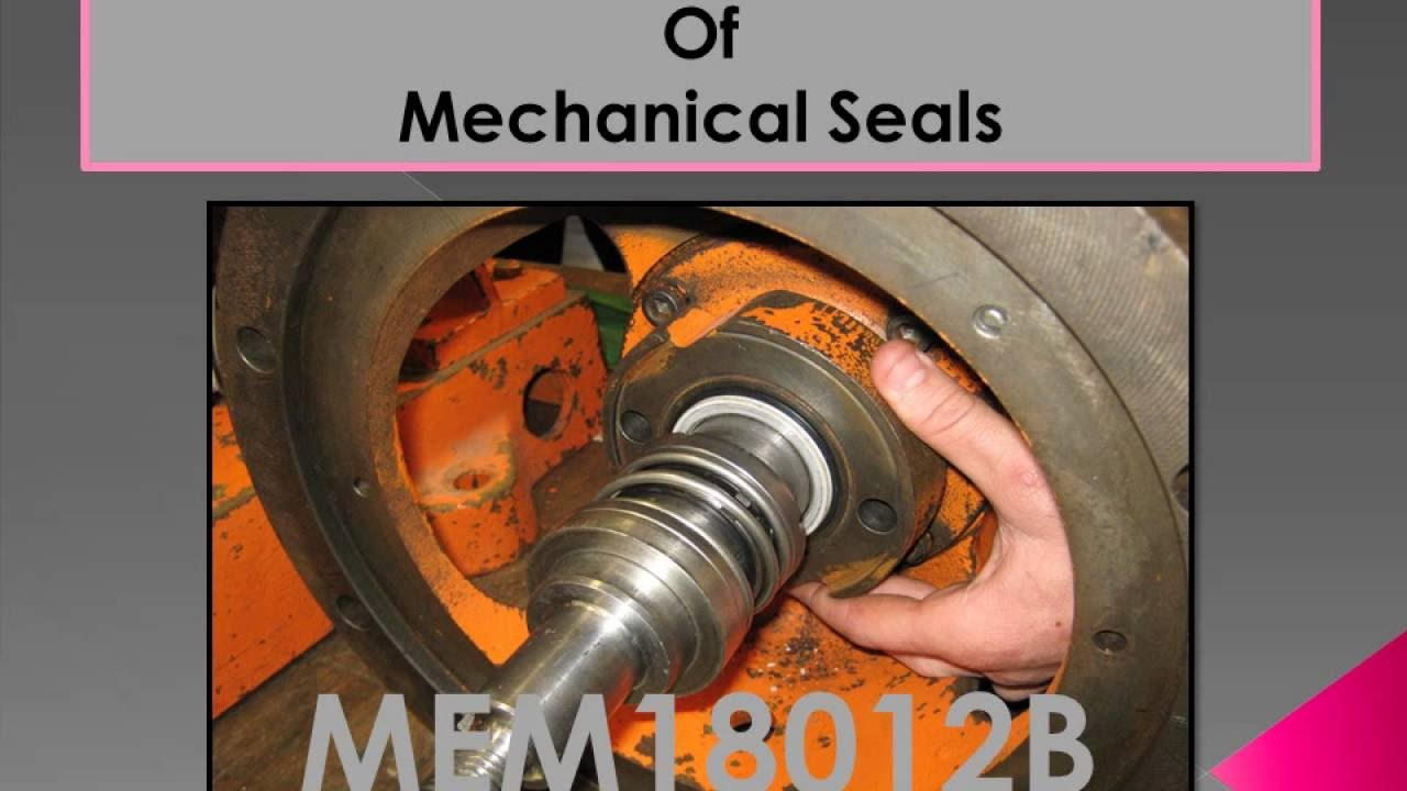 centrifugal pump mechanical seal diagram 2006 ford fusion wiring stereo installation with review questions video