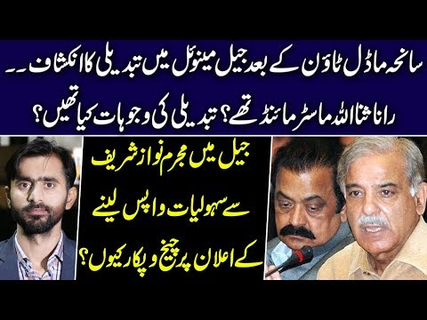 Changes in Jail Manual after Model Town Incident by Rana SanaUllah | Siddique Jan reveals